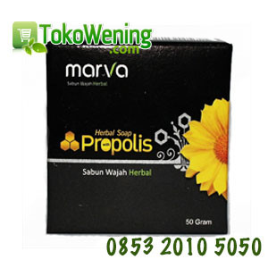 Sabun Herbal Propolis Marva