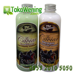 Shampoo dan Conditioner Caviar Kuda