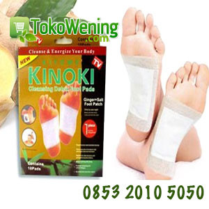 KINOKI GOLD GINGGER DETOX FOOT PADS